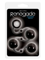 Renegade Pleasure Balls: Analkugeln, schwarz