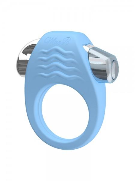 Soft Touch C-Ring: Vibro-Penisring, blau