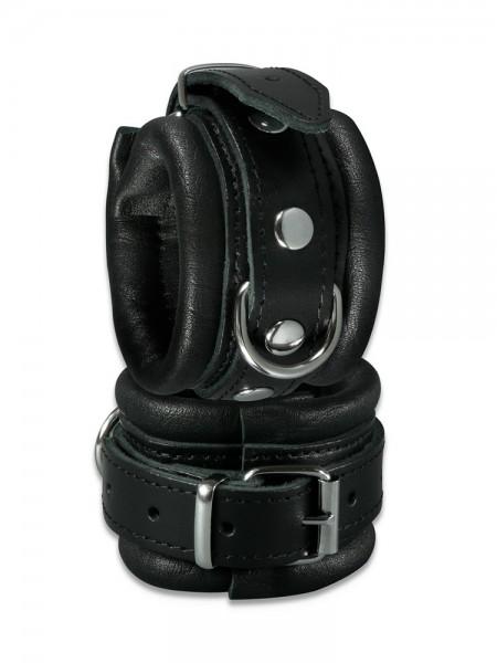 XxdreamSToys: Leder-Handfesseln, schwarz