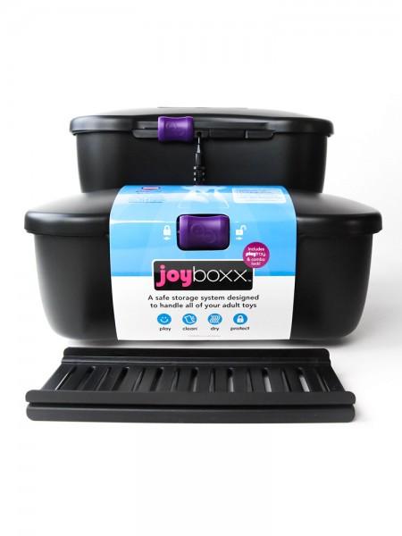 Joyboxx: Hygienische Toybox, schwarz