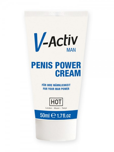 HOT V-Activ Man: Penis Power Cream (50ml)