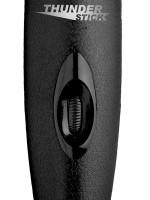 Master Series Thunderstick 2.0: Wandvibrator, schwarz/silber