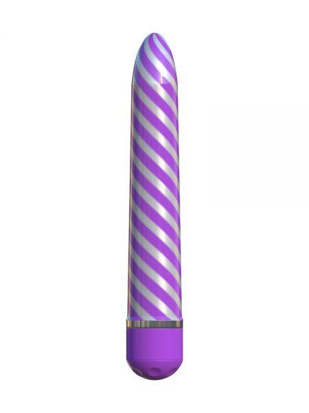 Classix Sweet Swirl: Vibrator, lila/silber