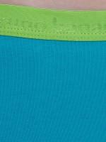 Bruno Banani Flooding: Panty 2er Pack, turquoise/apple