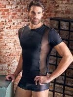 NEK: Herren-T-Shirt, schwarz