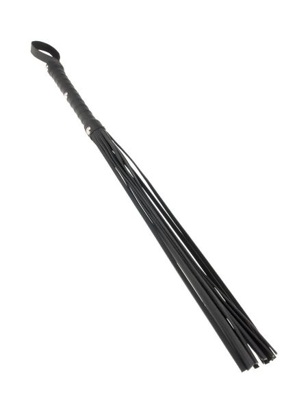 Fetish Fantasy Limited Edition Deluxe Cat-O-Nine: Flogger, schwarz