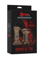 Kink Bind & Tie Initiation Kit: Bondageseile-Set, natur