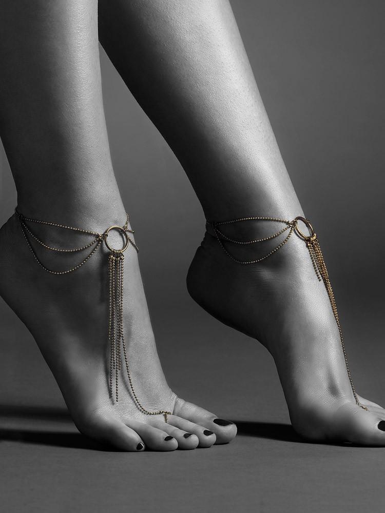 Bijoux Indiscrets The Magnifique: Fußkettchen, gold
