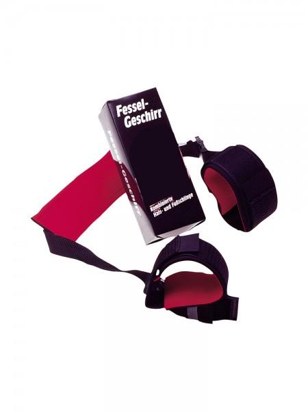 Hals-Fußfessel: Fessel-Geschirr