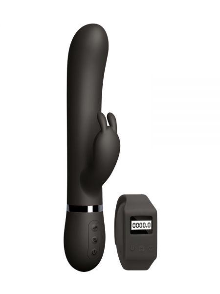 Sexercise Kegel Rabbit: Bunnyvibrator mit Fernbedienung, schwarz