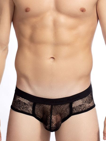 L'Homme Corentin: Push-Up Brief, schwarz