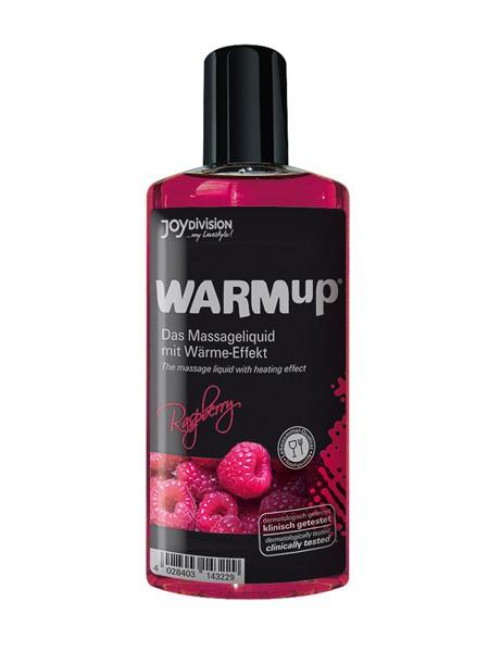 WARMup Massageöl: Himbeer (150ml)