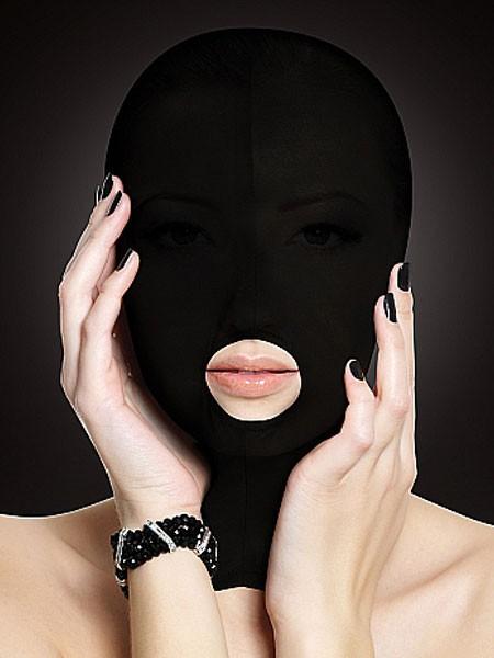 Ouch! Kopfmaske, schwarz