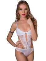 Eros Veneziani White Angel: Stringbody, weiß