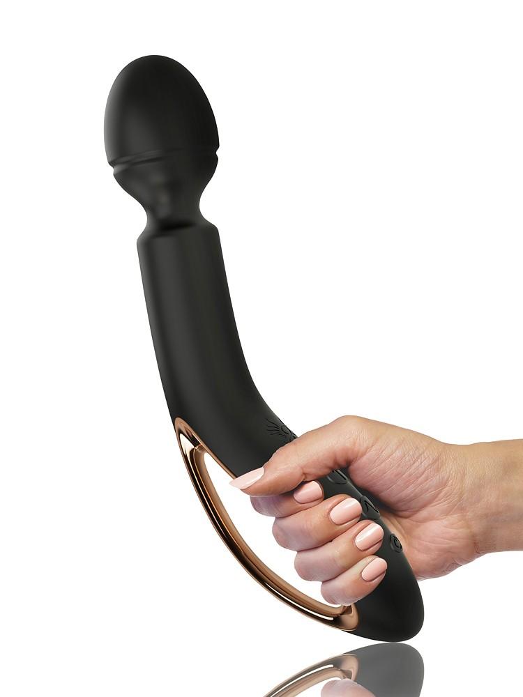 O-Wand Massager: Wandvibrator, schwarz