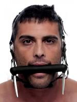 Master Series Steed: Kopfgeschirr mit Trense, schwarz