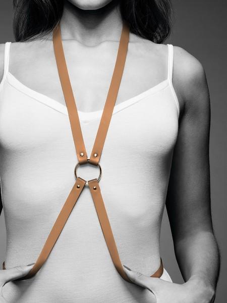 Bijoux Indiscrets Maze: 8-Harness, braun