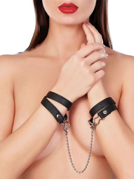Adore Paramour Fantasy: Locked In You Cuffs, schwarz