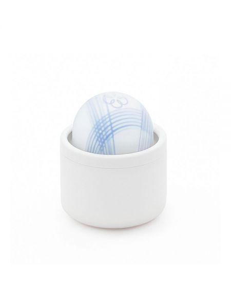 Iroha by Tenga Temari Mizu: Aufliegevibrator, blau/weiß