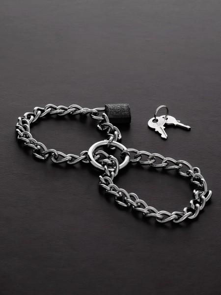 Triune Chain Cuffs: Edelstahl-Handfesseln