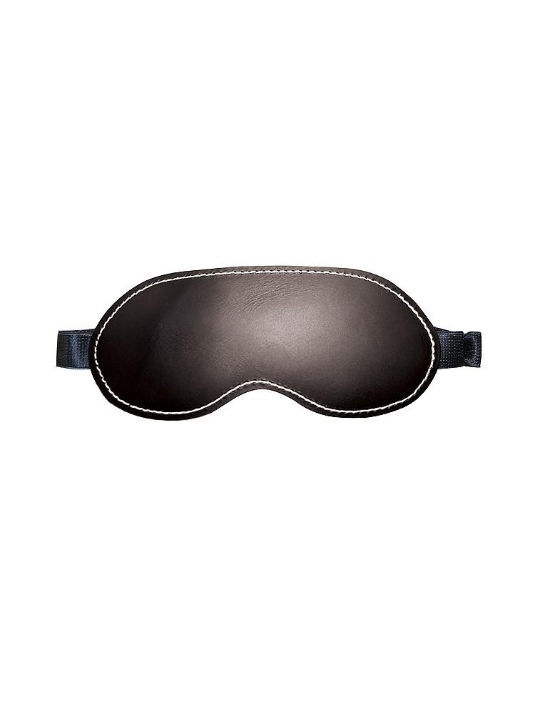 Sportsheets Edge Leather Blindfold: Leder-Augenmaske, schwarz
