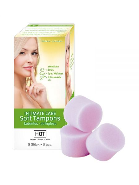 HOT Intimate Care Soft Tampons, 5er Pack