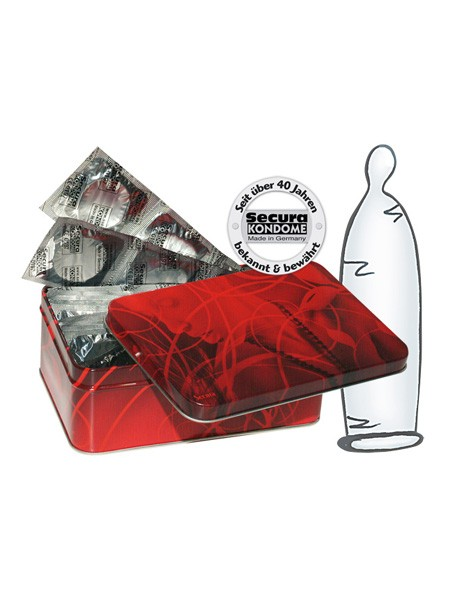 Secura Transparent Box 50er Pack