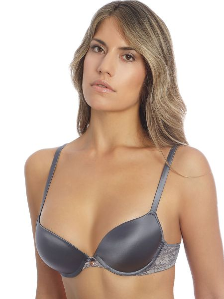 Sassa Magic Lace: Push-Up BH, dusty grey