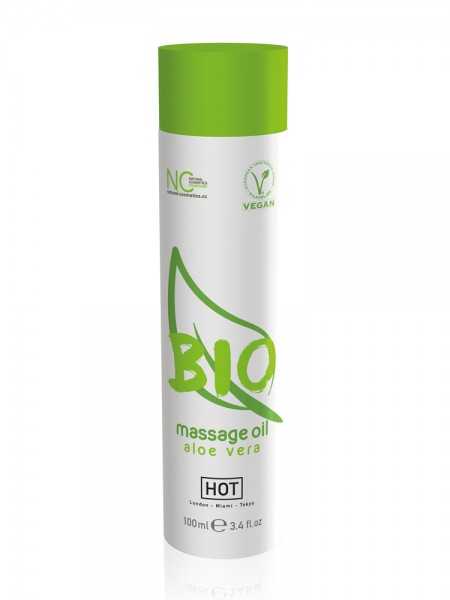 HOT Bio: Massageöl Aloe Vera vegan (100ml)