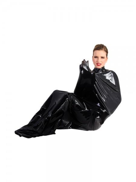 Latex-Saunasack, schwarz