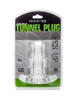 Perfect Fit Double Tunnel Plug Extra-Large: Analtunnel, transparent