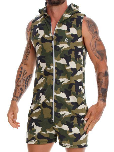 JOR Adventure; Jumpsuit, grün-camouflage