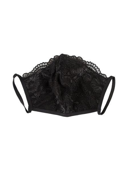 Spitzen-Maske, schwarz