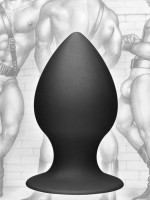 Tom of Finland Analplug Medium, schwarz