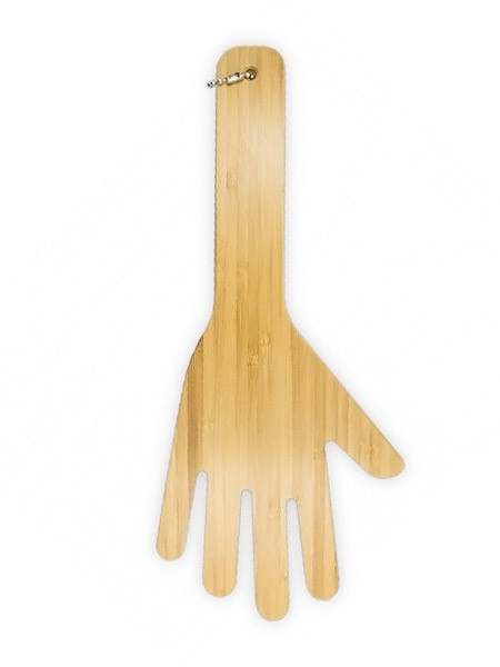 Spanking Play Bambus Nr.6: Bambus-Paddel, natur