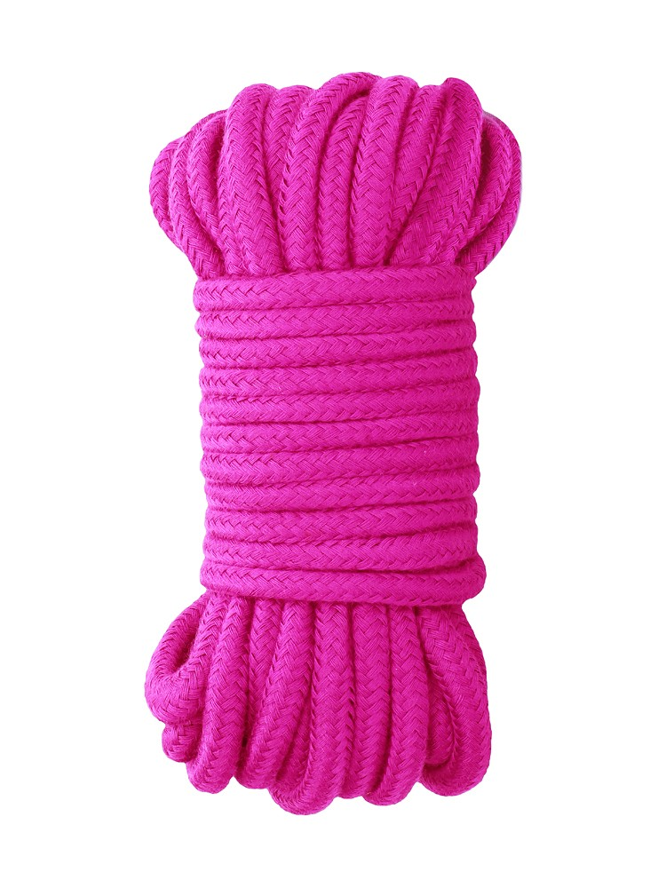 Ouch! Japanese Silk Rope: Bondageseil, pink (10m)