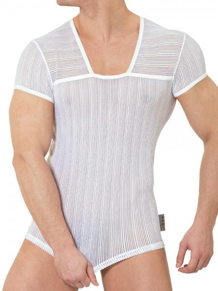 Eros Veneziani Flavio: T-Shirt, weiß