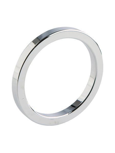 Malesation Metal Ring Starter: Edelstahl-Penis-/Hodenring