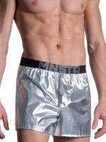 MANSTORE M2104: Boxer Short, silber