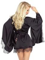 Provocative Le Petit: Kimono, schwarz