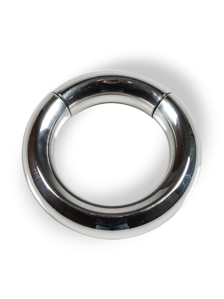 Stainless Steel Magnetic: Edelstahl-Hodenring (55mm)