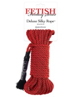 Deluxe Silky Rop: Bondageseil, rot (9,75m)