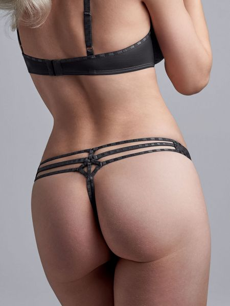 Marlies Dekkers Space Odyssey: String, checkered steel