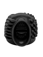 Master Series Thunder Gasm: Vibrator-Aufsatz, schwarz