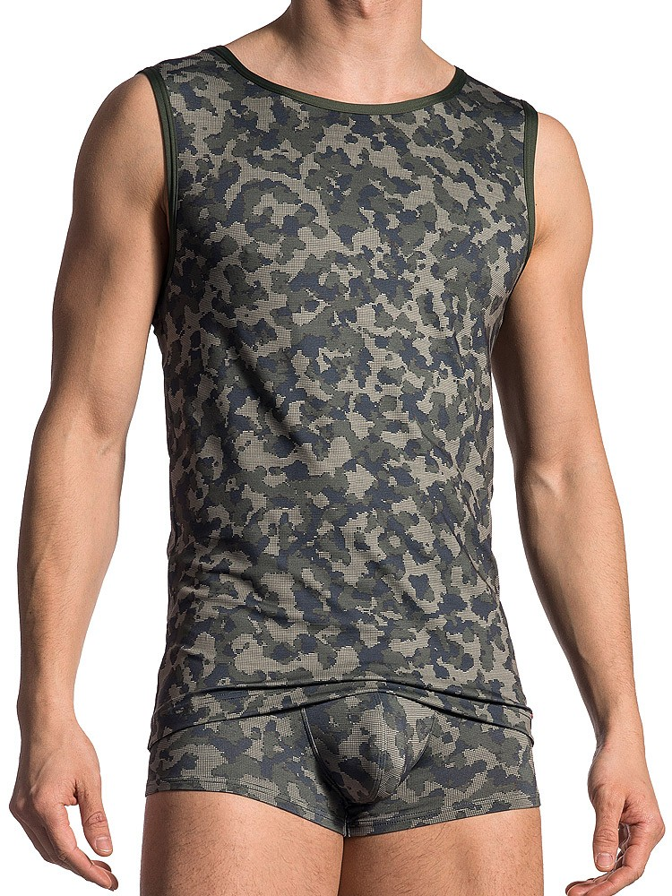 Olaf Benz RED1706: Tanktop, camouflage
