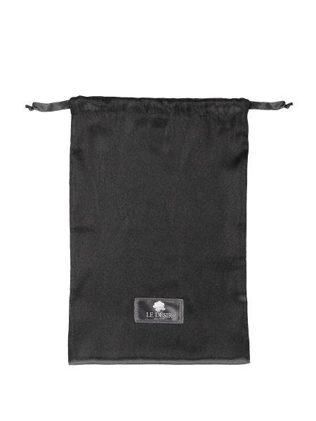 Le Desire Satin Bag: Dessous-Aufbewahrungsbeutel, schwarz