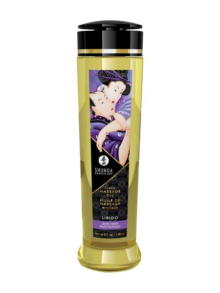 Shunga Libido Exotic Fruits: Massageöl (240 ml)
