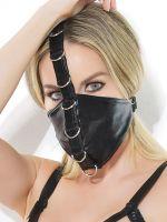 Coquette: Gesichtsmaske, schwarz