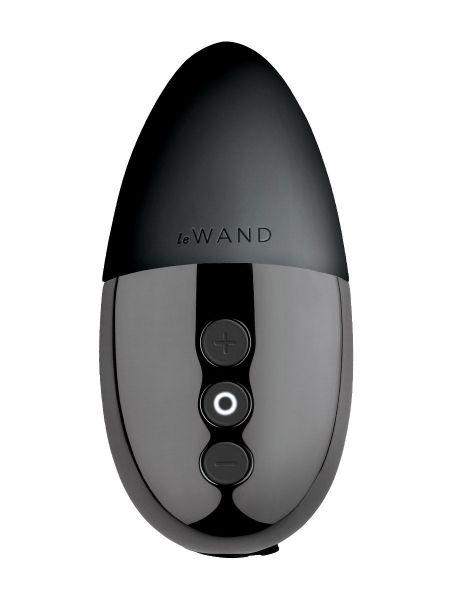 Le Wand Point: Auflegevibrator, schwarz
