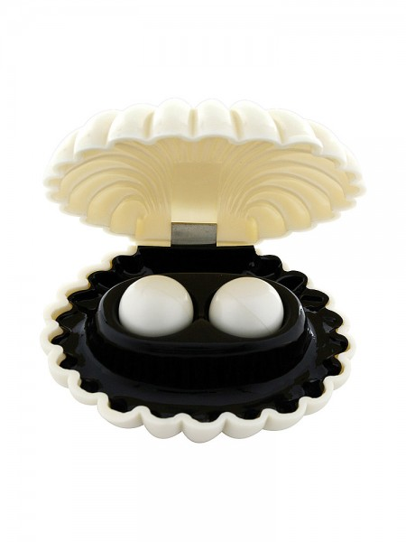 Pleasure Pearls: Liebeskugeln, weiß